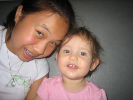 Lillian and I