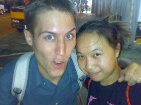 Daniel and I