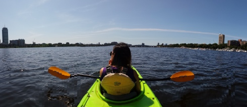 kayak charles river