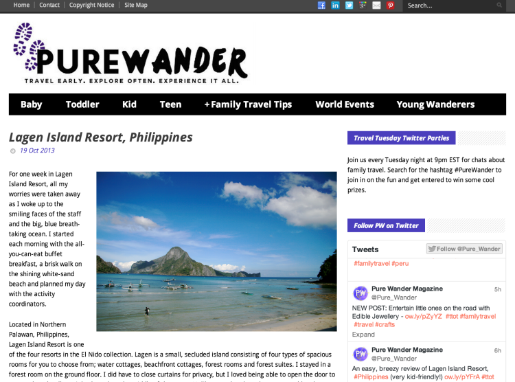Pure Wander screen shot