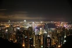View of Hong Kong taken from the Peak
